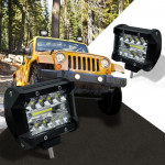 4 inch 60W 2100LM LED Strip Lamp Working Refit Off-road Vehicle Light Roof Strip Light