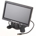 PZ-708 7.0 inch TFT LCD Car Rearview Monitor with Stand and Remote Control