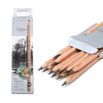 10 PCS Drawing Writing Sketch Wooden Pencil Pre-sharpened HB Art Graphite Pencils
