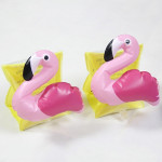Children Inflatable Flamingo Shape Arm Bands Floatation Sleeves Water Wings Swimming Floats, Size: 16x20x15cm