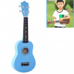 HM100 21 inch Basswood Ukulele Children Musical Enlightenment Instrument (Baby Blue)