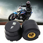 Motorcycle Bluetooth Tire Pressure Monitoring System TPMS Mobile Phone APP Detection 2 External Sensors