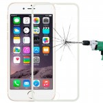 0.3mm Explosion-proof Full Screen Tempered Glass Film for iPhone 6 & 6s(White)