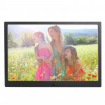 HSD1202 12.1 inch 1280x800 High Resolution Display Digital Photo Frame with Holder and Remote Control, Support SD / MMC / MS Car