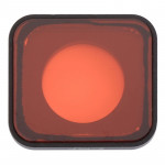 Snap-on Red Color Lens Filter for GoPro HERO6 /5(Red)