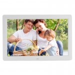 12 inch LED Display Multi-media Digital Photo Frame with Holder & Music & Movie Player, Support USB / SD / Micro SD / MMC / MS /