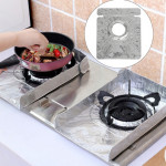 2 PCS Gas Stove Protectors Foil Heat-resistant Anti-Fouling Liner Cleaning Kitchen Tools Mat