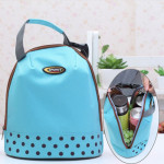 Portable Handle Thicken Insulated Luncheon Bag, Size: 26*23cm(Blue)