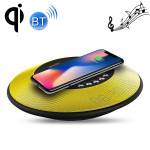 awei Y290 5W Fast Wireless Charger with Bluetooth Speaker, For iPhone, Galaxy, Huawei, Xiaomi, LG, HTC and Other Smart Phones(Ye