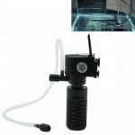 HX-200L 3W 300L/H Multi-function Mini Submersible Aquarium Water Pump Circulation Pump Fish Tank Internal Air Filter
