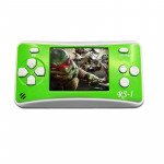 RS-1 Retro Portable Handheld Game Console, 2.5 inch 8 Bits True Color LCD, Built-in 152 Kinds Games(Green)