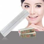 10 PCS Professional Hairdressing Tools Scraper Blade Eyebrow Trimmer Shaving Scratching Hair Feather Blade(Silver)