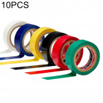 10 PCS 16mm Waterproof PVC Insulating Tare Electricians Electrical Tape