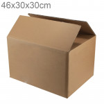 Shipping Packing Moving Kraft Paper Boxes, Size: 46x30x30cm