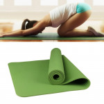 6mm Thickness Eco-friendly TPE Anti-skid Home Exercise Yoga Mat, Size:183*61cm(Green)