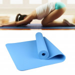 6mm Thickness Eco-friendly TPE Anti-skid Home Exercise Yoga Mat, Size:183*61cm(Blue)