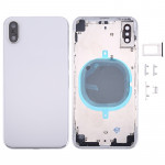 Back Housing Cover for iPhone X(Silver)