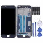 TFT Materials LCD Screen and Digitizer Full Assembly with Frame for OPPO R9s(Black)