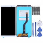 LCD Screen and Digitizer Full Assembly for Vivo Y79 / V7 Plus(White)