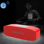 HOPESTAR H11 Mini Portable Rabbit Wireless Bluetooth Speaker, Built-in Mic, Support AUX / Hand Free Call / FM / TF (Red)