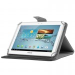 Universal Crazy Horse Texture Horizontal Flip Leather Case with Holder for 10 inch Tablet PC(Black)