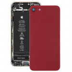 Back Cover with Adhesive for iPhone 8(Red)