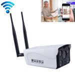 J-02100 1.0MP Dual Antenna Smart Wireless Wifi IP Camera, Support Infrared Night Vision & TF Card(64GB Max)