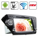 Autoradio pour KIA K2 avec WiFi / GPS / RDS / IPOD / Bluetooth / ATV 8 pouces Android 4.2 Multi-Touch Écran Capacitif In-Dash...