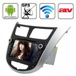 Rungrace 7.0 inch Android 4.2 Multi-Touch Capacitive Screen In-Dash Car DVD Player for Hyundai Verna with WiFi / GPS / RDS / IPO