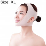 Lycra Flesh Color Breathable Skin Care And Lift Reduce Double Chin Mask Face Belt, Size: XL