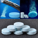 12 PCS Car Solid Wiper Fine Auto Window Cleaning Windshield Glass Cleaner Washer Tablets(1 PCS=4L Water)