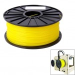 ABS 1.75 mm Color Series 3D Printer Filaments, about 395m(Yellow)