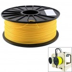 ABS 1.75 mm Fluorescent 3D Printer Filaments, about 395m(Yellow)