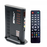 1920x1200 HD LCD TV-Box with Remote Control, TV (PAL-BG+PAL-DK), Black
