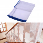 3m Thickening Safety Cope Braided Balcony Stair Safety Net for Child(Blue)