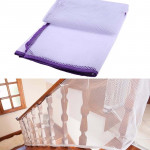 3m Thickening Safety Cope Braided Balcony Stair Safety Net for Child(Purple)