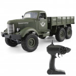 JJR/C Q60 Transporter-1 Full Body 1:16 Mini 2.4GHz RC 6WD Tracked Off-Road Military Truck Car Toy (Army Green)