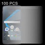 100 PCS 0.26mm 9H 2.5D Tempered Glass Film for Blackberry DTEK50