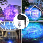 Blinblin CPF-LED 9W RGB IP65 Waterproof Aluminum Shell Landscape Light, Lawn Lamp Floodlight with 12-keys Remote Control