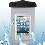 High Quality Waterproof Bag Protective Case for iPhone 5 & 5s & SE / iPhone 4 & 4S / 3GS / Other Similar Size Mobile Phones (Whi