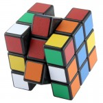 Cube magique 58mm Six-Color Carré 3 x 3 x 3 Magic - Wewoo