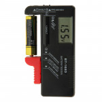 BT-168D Digital LCD Display Battery Universal Tester for 1.5V AAA, AA and 9V 6F22 Batteries