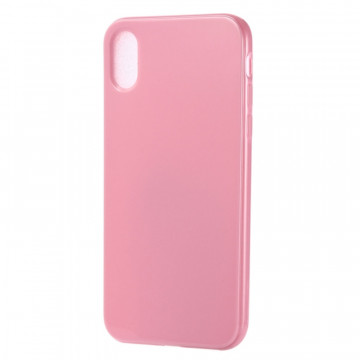 Coque Etui TPU Candy Color pour iPhone XR Rose