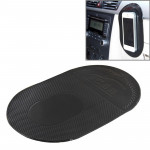 Car Anti-Slip Sticky Mat for Mobile Phone / MP3 / MP4, Size: 18.2x12x0.2cm(Black)