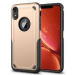 Coque de protection antichoc robuste pour iPhone XR (Or) - Wewoo