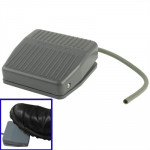 AC 250V 10A Textured Plastic Foot Treadle Switch (TFS-201)(Grey)