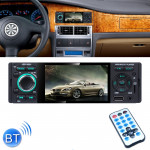 JSD-3001 HD 4.1 inch Single Din Capacitive Touchscreen Car Stereo Radio MP5 Audio Player FM Bluetooth USB / TF AUX (Not Included