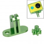 TMC Lightweight CNC Aluminum Headset Mount for XiaoMi YI Sport Camera(Green)