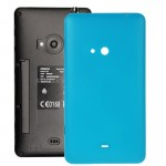 iPartsBuy for Nokia Lumia 625 Original Housing Battery Back Cover with Side Button(Blue)