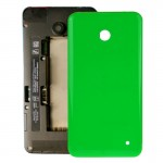 iPartsBuy for Nokia Lumia 635 Housing Battery Back Cover + Side Button(Green)